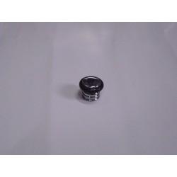 fermaporta paracolopo ondulato in ottone cromo lucido 610000007
