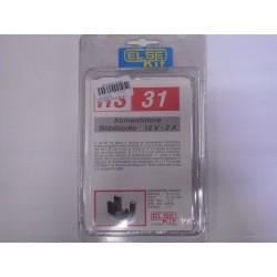 kit didattico elettronico ALIMENTATORE STABILIZZATO 12V 2A Else Kit RS31