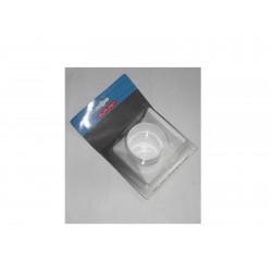portabicchiere in plastica bianco adesivo 11x10cm.