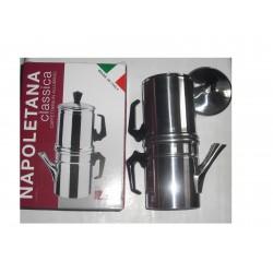 caffettiera moka Napoletana 6 tazza 004-00