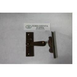 tavellino per porta in ferro arruginito cm.2x7 50003.08100.2