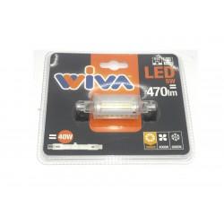 Lampadina LED 5Watt attacco R7S Luce Calda 3000k e naturale 4000k 78mm.