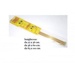 Bacchetta Tenda Estensibile e a molla 27/36-36/60-63/110con ventosa Oro 2 Pezzi