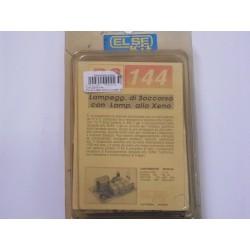 kit didattico elettronico LAMPEGGIATORE SOCCORSO XENO Else Kit RS144