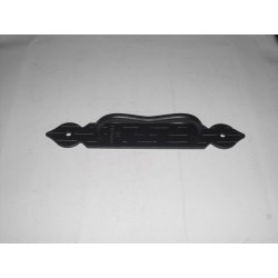 maniglione per porta ferro battuto nero 20cm. 1165781