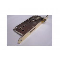 serratura AGB patent grande 35mm. bordo tondo ottonato 1320024