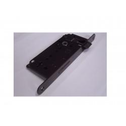 serratura AGB patent grande 30mm. bordo tondo bronzato 1321014