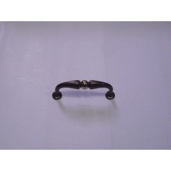 maniglia per mobile ottone bronzato 80mm. A1331MOMP90BA