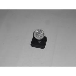 pomo crystal palla d.30mm. 5101212